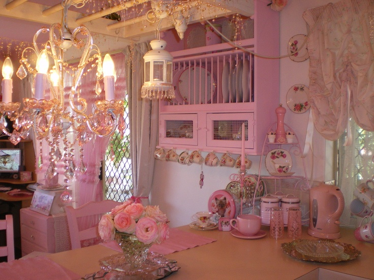 Olivias Romantic Home Kims Shabby Chic Pink Palace Tour