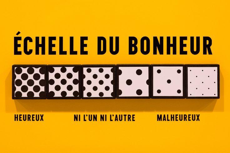 The Happy Show, Stefan Sagmeister. Du 28 novembre 2013 au 9 mars 2014. La Gaîté Lyrique, Paris