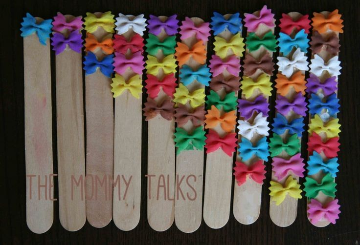 Make your own counting sticks! So many ways to use these simple counting tools