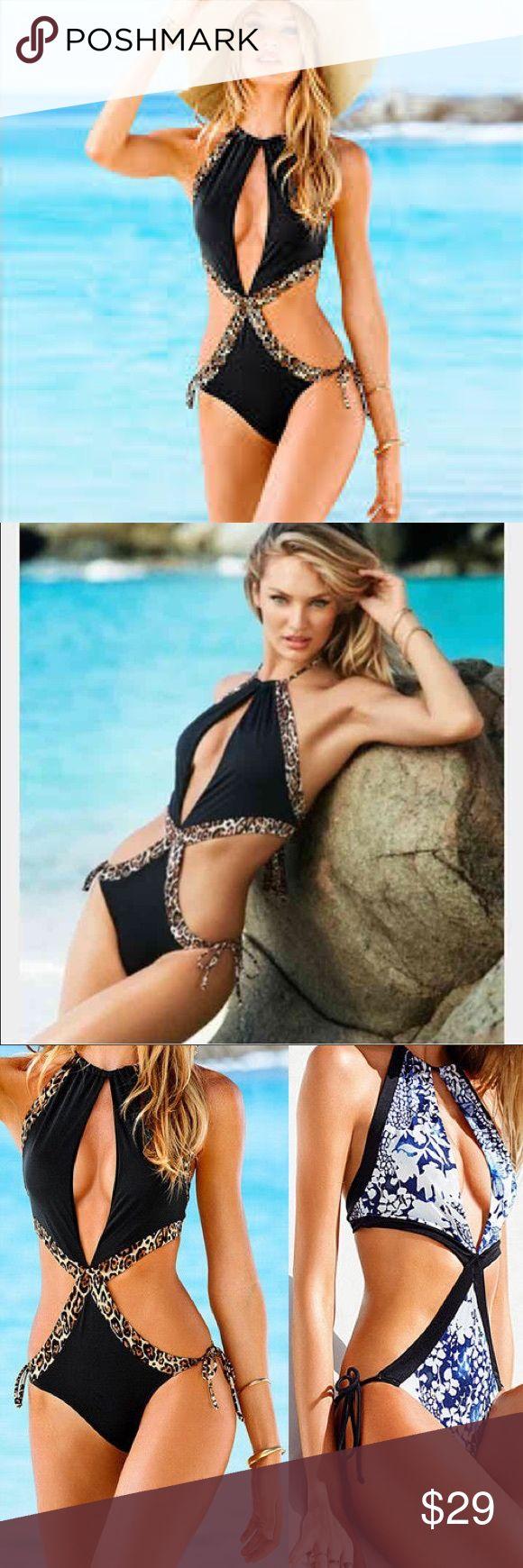 Victoria's Secret leopard print monokini Victoria's Secret leopard print monokini never worn sz medium Victoria's Secret Swim Bikinis