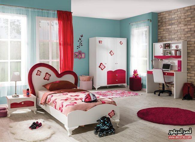 ديكورات غرف نوم الاطفال احدث غرف اطفال مودرن 2019 قصر الديكور Room Home Decor Furniture