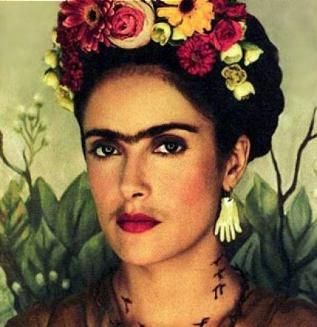 "Frida Kahlo (Salma Hayek) - ""Frida"" Photo: Movie / SL"