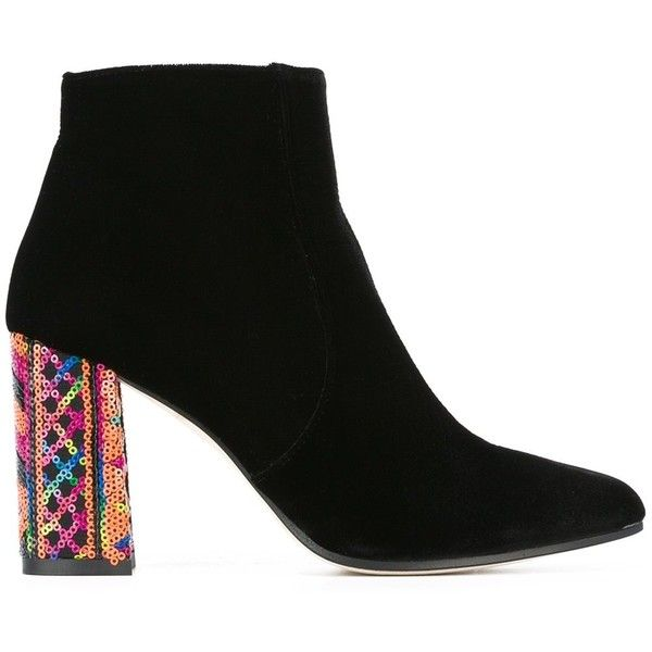 Bams 'Eli' Boots (1,535 PEN) ❤ liked on Polyvore featuring shoes, boots, multi coloured shoes, multi color boots, colorful shoes, multi colored shoes and multi colored boots