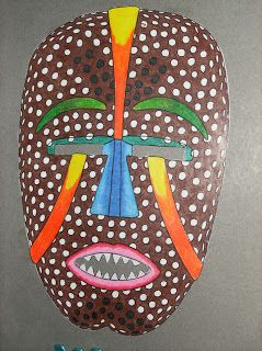 Traditional African Masks   African Masks - Dissection of Self - Year 9 Art - LibGuides at ...