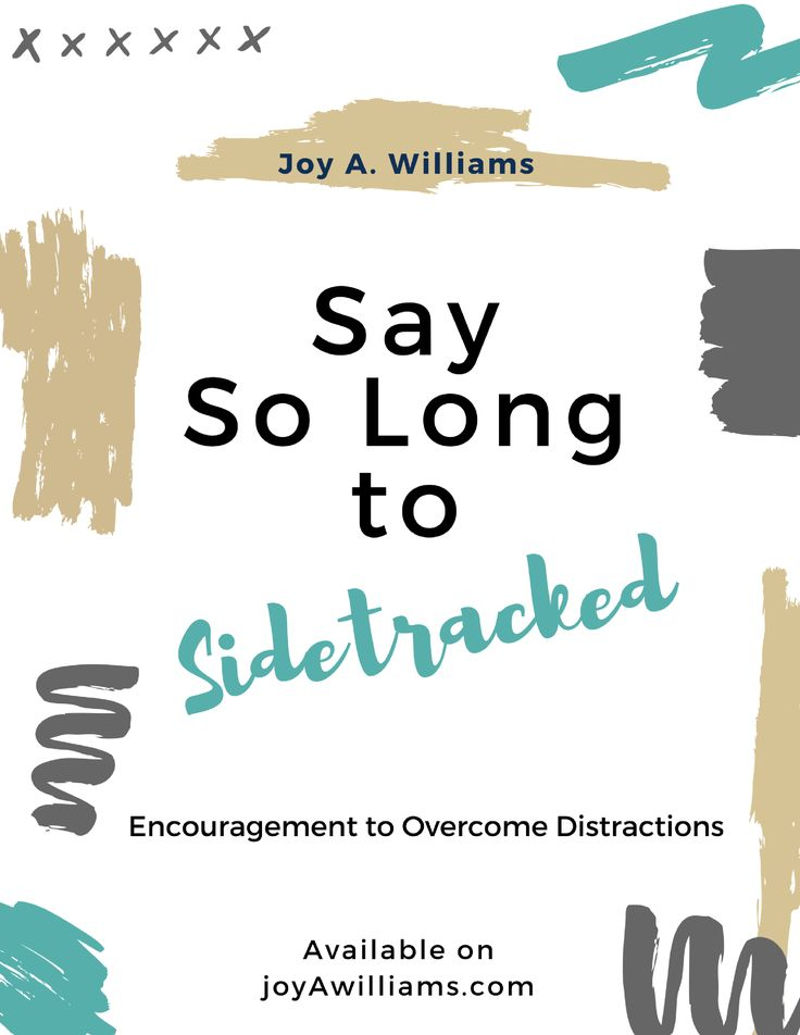 When you sign-up to follow joyAwilliams.com, you'll receive a FREE PDF download of Say So Long to Sidetracked. You can use this biblical approach to overcoming distractions for personal study or as a 30-minute lesson for your small group. #distractions #biblestudy #focus #encouragement #joytothesoul