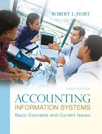 Textbook Solutions Manual for Accounting Information Systems Basic Concepts and Current Issues 3rd Edition by Hurt INSTANT DOWNLOAD