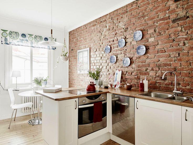 17 migliori idee su mattoni a vista su pinterest cucina - Parete con mattoni a vista ...