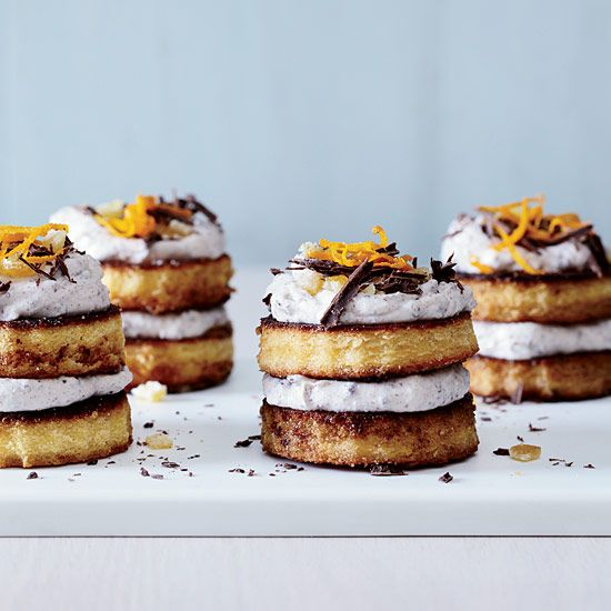 Mini Cassata Cakes // More Fast and Easy Desserts: http://www.foodandwine.com/slideshows/fast-and-easy-desserts/1 #foodandwine