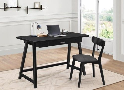 Braiden Black Retro Desk & Chair Set 800899