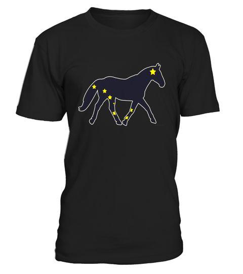 Horses Decal with Alaska Flag T-shirt Alaska Equestrian