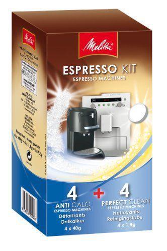 Melitta Kit Entretien Spécial Machines Expresso et à Dosette: Dimensions: 23 x 12 x 12 cm - Pour l'entretien de machines à expresso,…