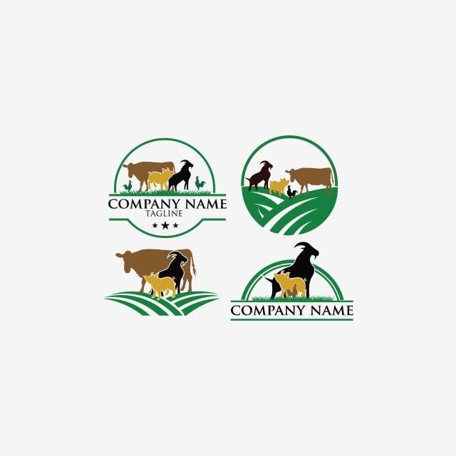 خمر ناقلات مجموعة من مزرعة الحيوانات التسمية حيوان أيقونات المجموعة أيقونات المزرعة Png والمتجهات للتحميل مجانا Animal Logo Online Logo Creator Dairy Products Packaging Design