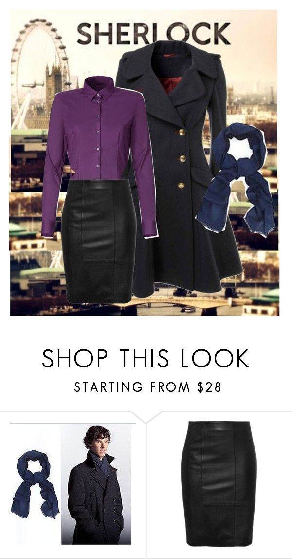 """""""Female Sherlock Holmes"""" by owlbear232 ❤ liked on Polyvore                                                                                                                                                                                 More"""