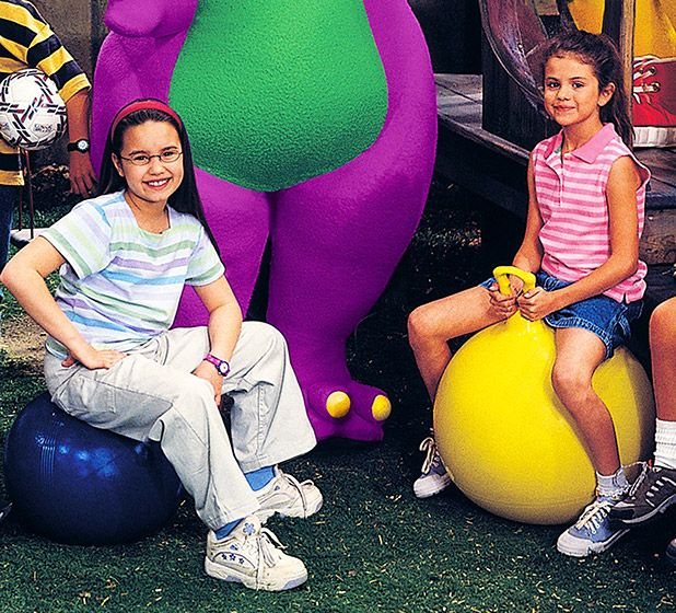 "childhood bffs Demi Lovato and Selena Gomez  They met on the set of Barney & Friends as kid actors in the late 90s and became fast pals. ""I've known her since we were 7, and we did fall apart for a while. She was going through things and I was so young and it was confusing. I processed it saying, 'OK, I don't understand what she's going through so I'm just going to do this.' I don't think it was fair, and I'm so happy that I have her back in my life now."""