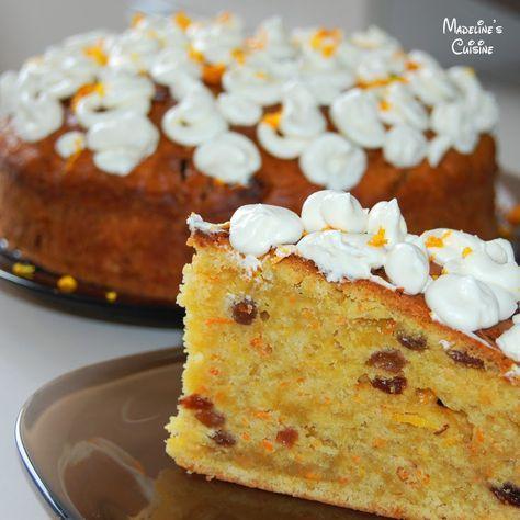 Prajitura cu morcovi / Carrot cake - Madeline's Cuisine