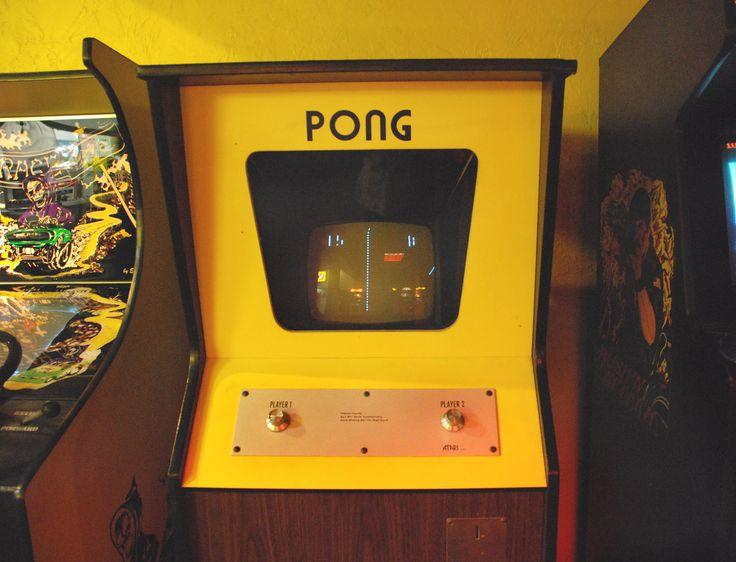 pong arcade machine