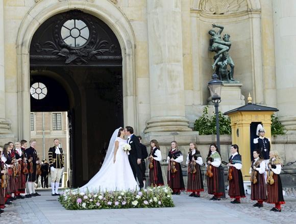 Matrimonio Madeleine de Suecia