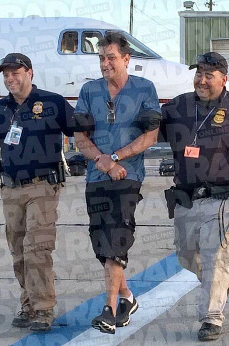 Charlie Sheen Caught 'Hammered' At The Mexican Border!