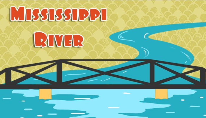 Awesome interactive presentation of facts about the Mississippi River