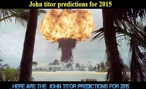 UFO mania: Time Traveler John Titor Predictions for 2015