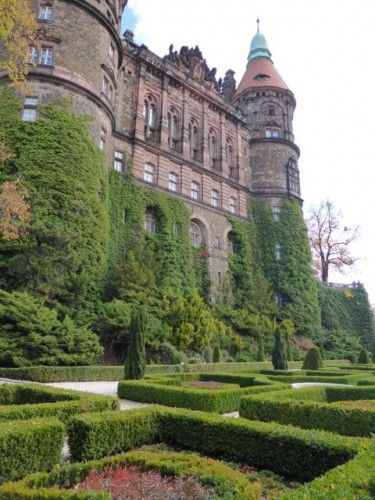 The mysterious Ksiaz Castle, Poland