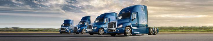 Globocam dealers offer you the complete range of Freighliner heavy trucks.