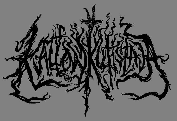 Fake band logo 2017 - Kallonkutistaja