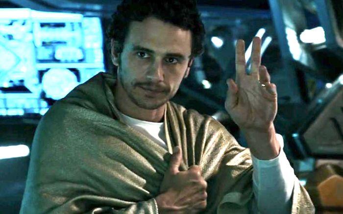 James Franco in Alien: Covenant