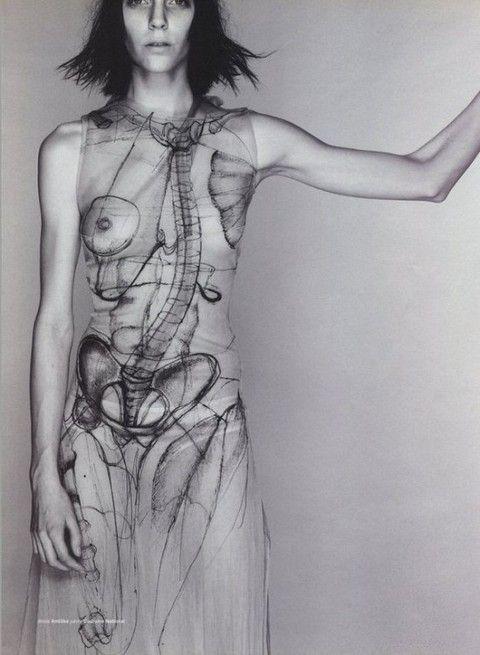 Anatomical dress