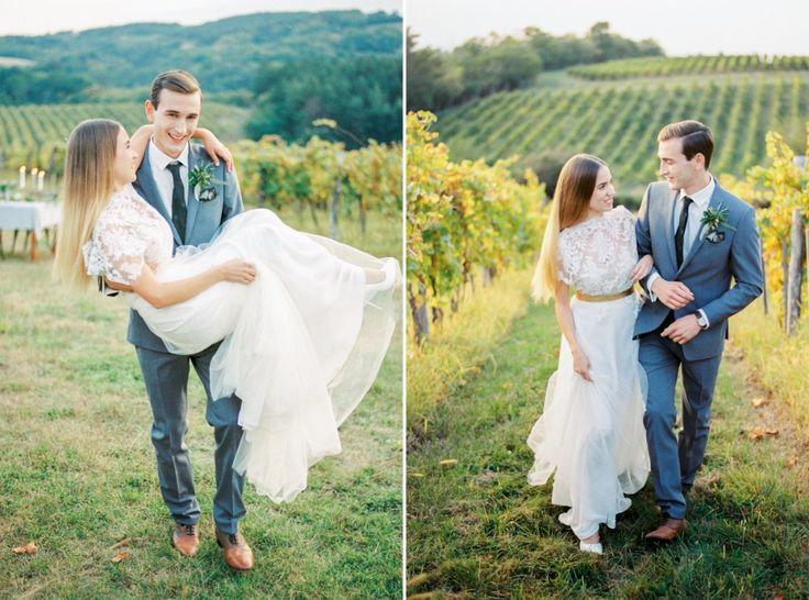 Italian styled wedding in the vineyards