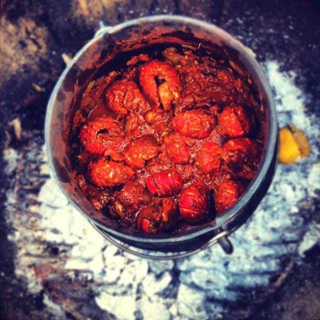 Crayfish potjie .... aaaaaahhhhhh yumyumyumyumyum