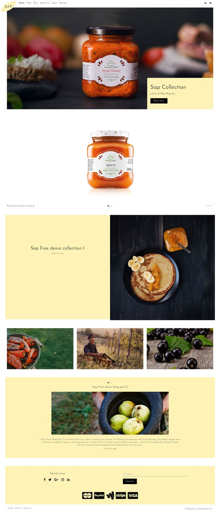 Sap – Food Store Responsive Shopify Theme Download Link: https://www.themetidy.com/item/sap-food-store-responsive-shopify-theme/ #jam #jelly #bread #foodshopifythemes #drinkshopifythemes #cafesshopifythemes #restaurantsshopifythemes #fresh #event #party #tasty #healthy #order #recipes #delicious #bar #tablebooking #cookingstore #eat #chef #organicshop #delivery #pub #menu #bootstrapshopifythemes #ecommerceshopifythemes #responsiveshopifythemes