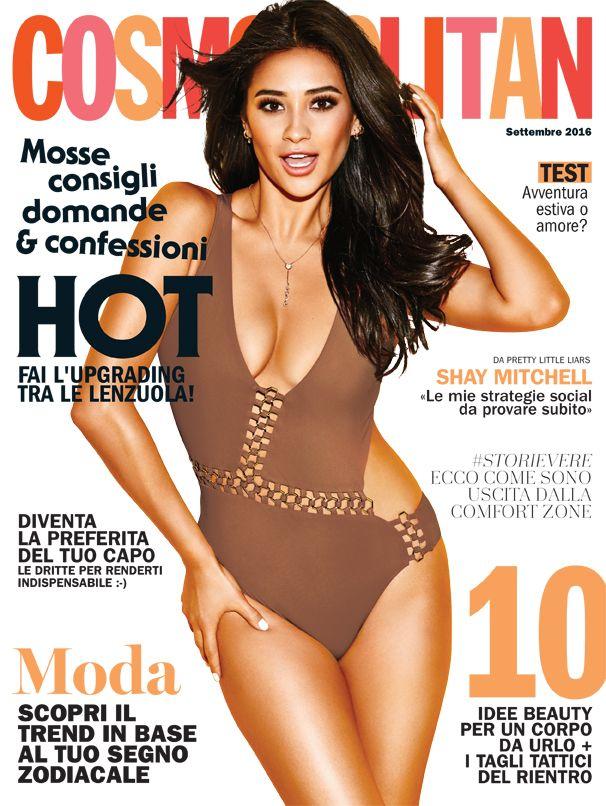 Preview: la cover star del numero di settembre 2016 di Cosmopolitan è Shay Mitchell! Saremo in edicola a partire da lunedì 22 agosto, formato digitale in anteprima dalle ore 18:00 di sabato 20 agosto. Tutte le info qui: http://www.cosmopolitan.it/lifestyle/news/a114776/cosmopolitan-di-settembre-2016-digitale/