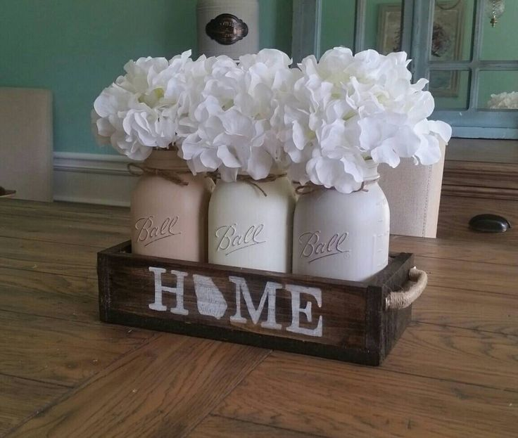 A personal favorite from my Etsy shop https://www.etsy.com/listing/509237737/georgia-home-decor-mason-jar-centerpiece