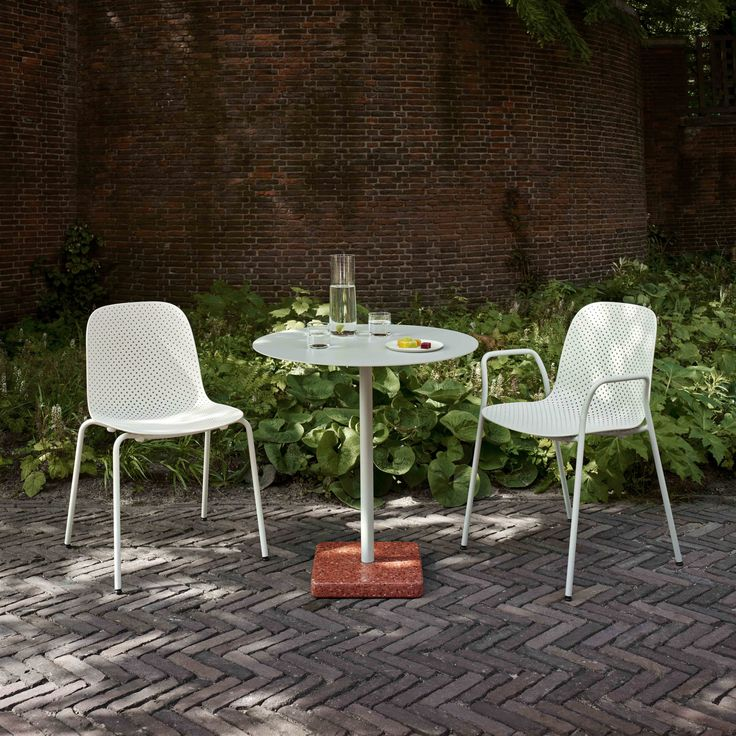 Terazzo table and 13Eighty chair.