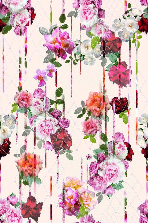 My Bleeding Rose-Floral SS14 Prjoect- Camilla Atkins by Camilla Atkins, via Behance
