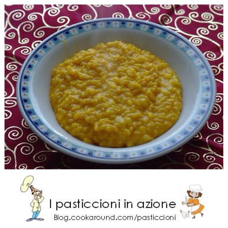 Risotto zucca e taleggio, il tipico risotto autunnale che riempie cuore e stomaco