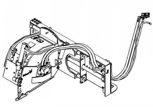 Bobcat 14 Planer Service Repair Manual S/N 231200101 And