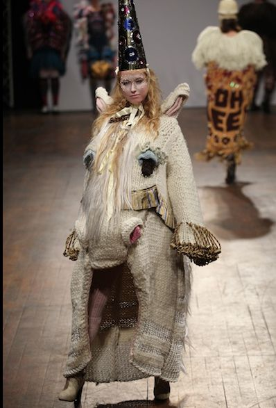 The rare and elusive unicorn coat will keep you magically warm all winter long.