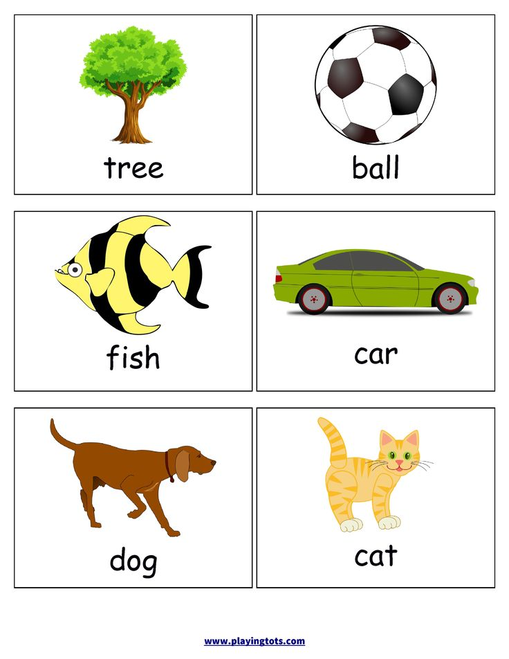 First words flash cards for your toddler keywords picture