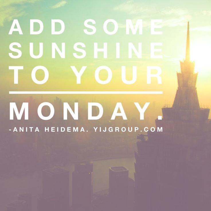 Add sunshine to your day.