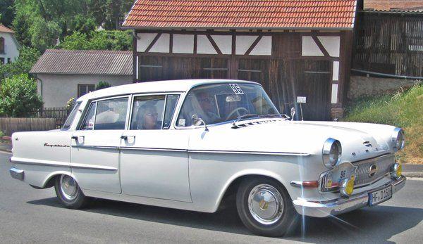 Opel Kapitän PL-V, Baujahr 1961