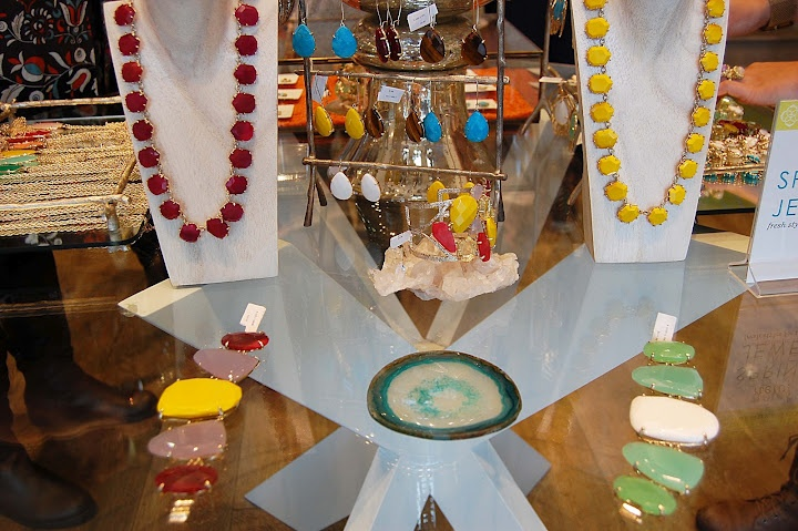 Kendra Scott Dallas in-store display.....Eye candy!!!