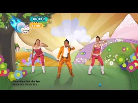 Just Dance Kids 2   Mah Na Mah Ma...it's goofy but the kids will enjoy the break.