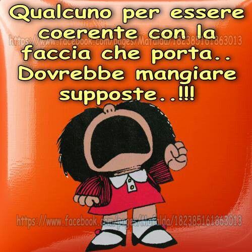 Mafalda - qualcuno per essere coerente  ...