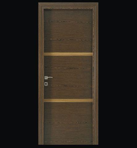 internal door with zebrano-teak veneer & 36 best nordico exclusive doors images on Pinterest | Security door ...
