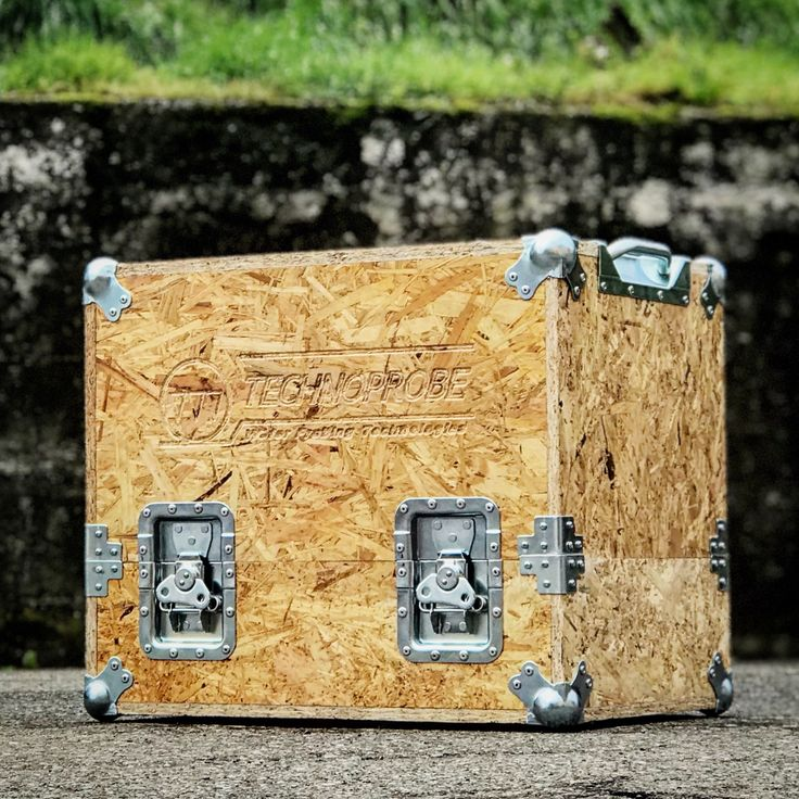 Osb FLIGHT CASE ecologico eco wood by la Erre road case ata industry top quality made in Italy www.laerre.com technoprobe