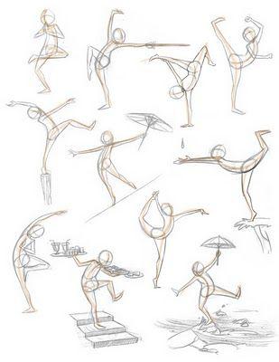 Pose Sketch / Drawings