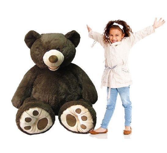 Giant Cuddly Bear Massive XXL 134cm Lovely Cute Adorable Siting Soft Touch Teddy