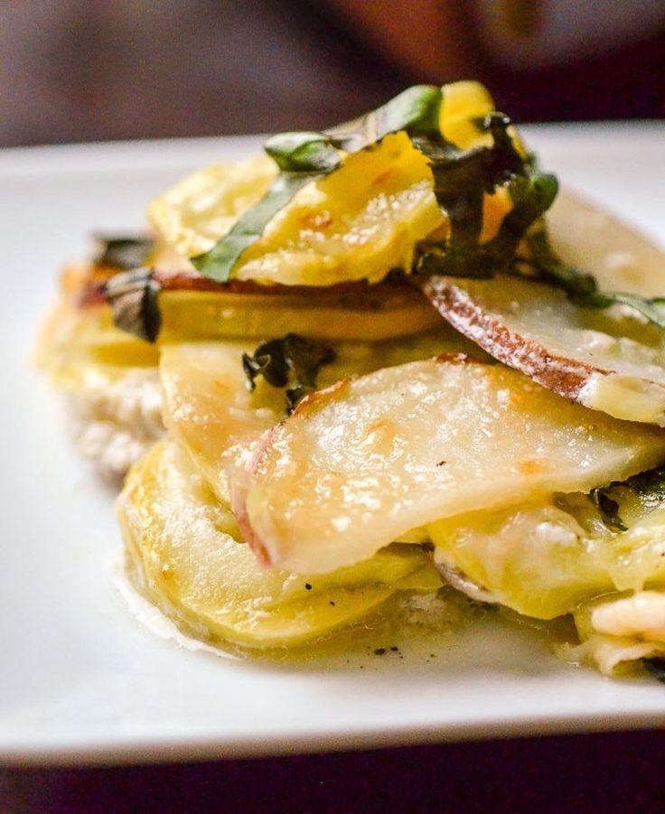 Simple Recipe: Potato, Squash & Goat Cheese Gratin — Recipes from The Kitchn